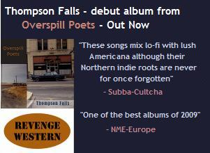 Thompson Falls - debut album from Overspill Poets - out now
